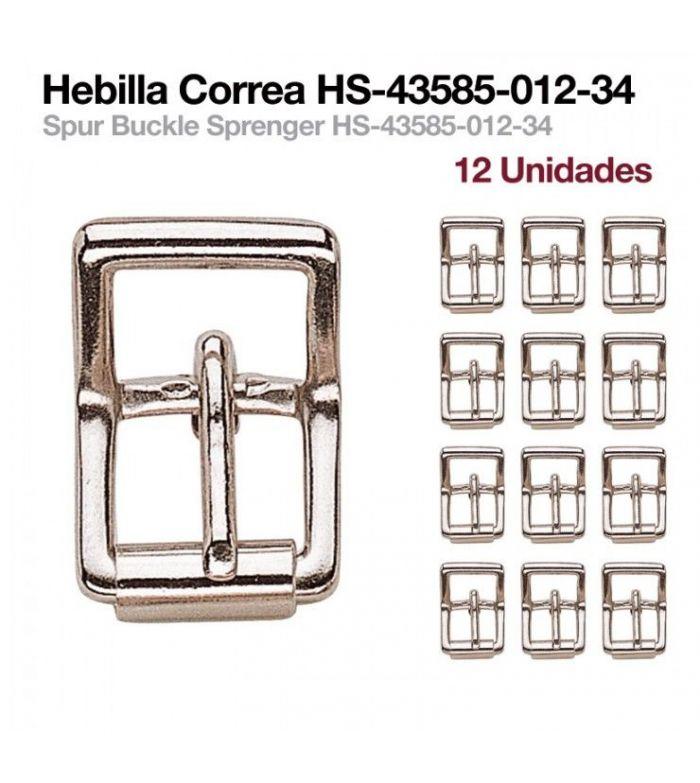 Hebilla para Correa Espuela Hs-43585-012-34 (12 Uds)