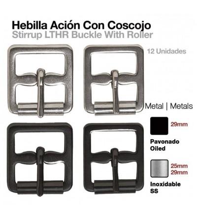 Hebilla Acion Estribo con Cosojo 24186S (12 Uds)