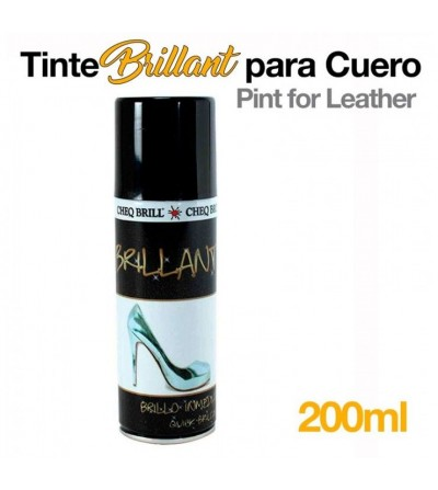 Tinte Brillant para dar Brillo al Cuero 200 ml