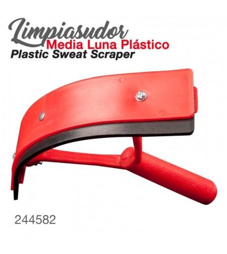 Limpiasudor Media Luna de Plástico 244582