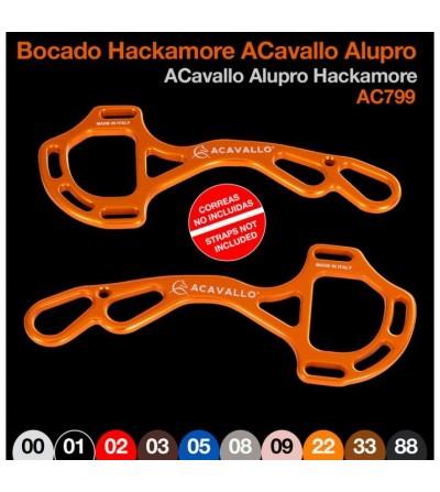 Bocado Hackamore Acavallo Alupro AC799