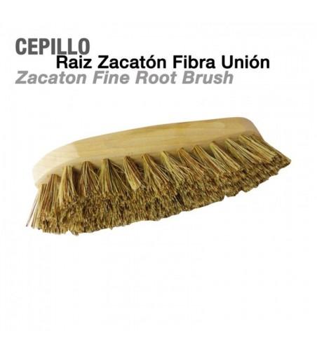 Cepillo Zacatón de Raíz Fibra Union