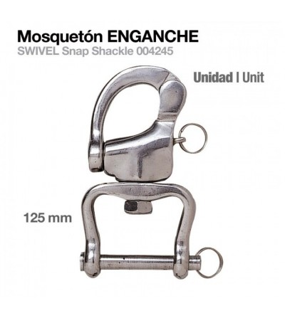 Mosquetón Enganche 004245 125 mm