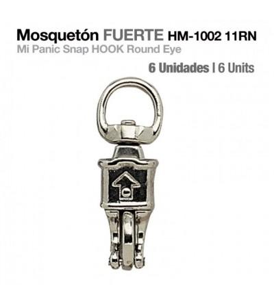 Mosquetón Fuerte HM-1002-11RN 6 Uds