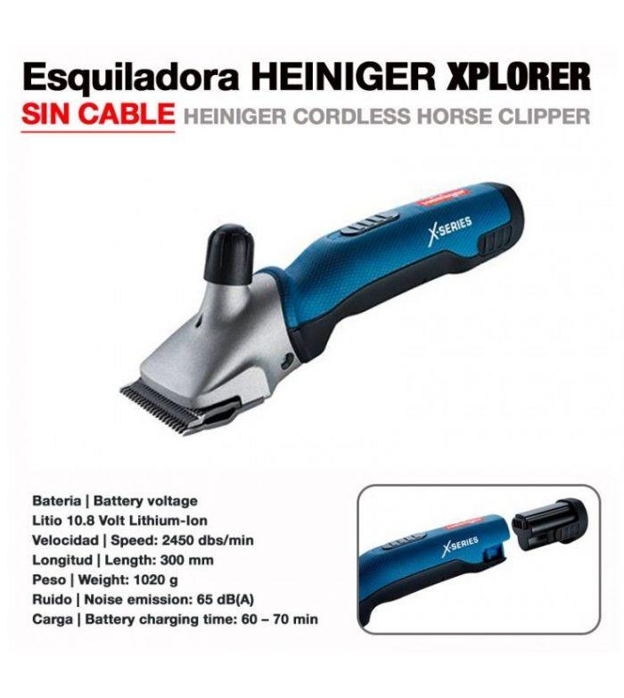 Esquiladora Heiniger Cordless Sin Cable