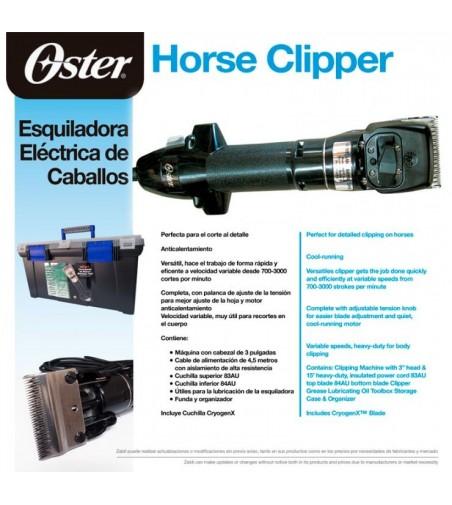 Esquiladora Eléctrica para Caballos Oster