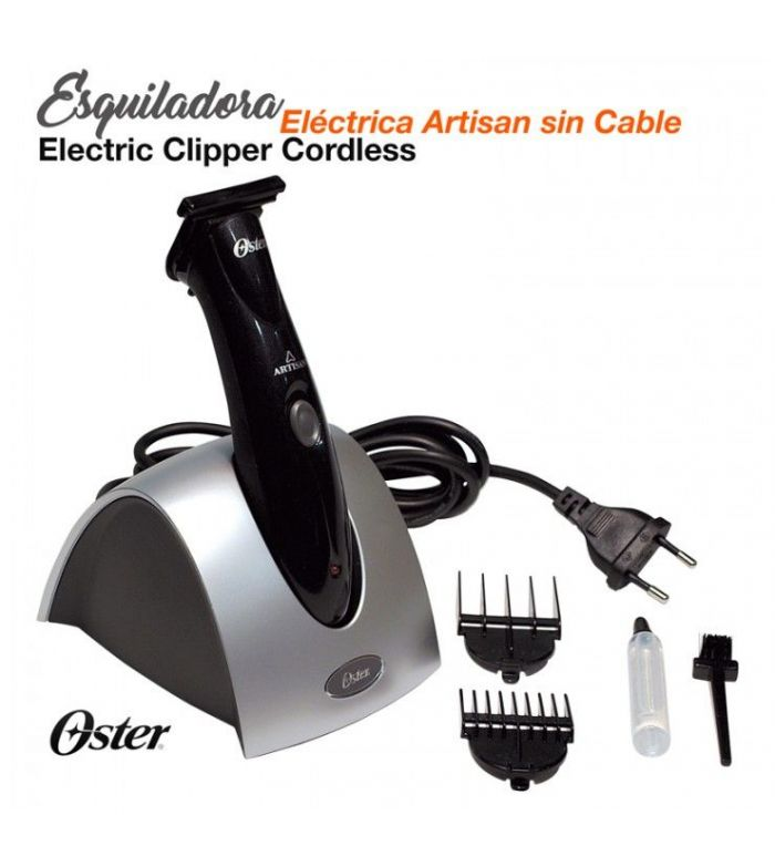 Esquiladora Eléctrica Artisan Sin Cable
