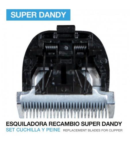Cuchilla Super Dandy para Esquiladora Oster