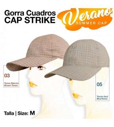 Gorra Cap Strike Verano Cuadros