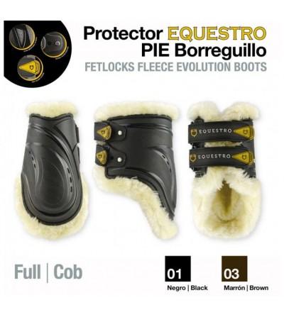 Protector Equestro Pie Borreguillo