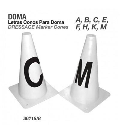 Letras Conos para Doma A,B,C,E,F,H,K,M
