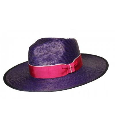 Sombrero Mastón Palma Marino con Lazo Vivo