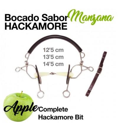 Bocado Sabor Manzana Hackamore HB-2926