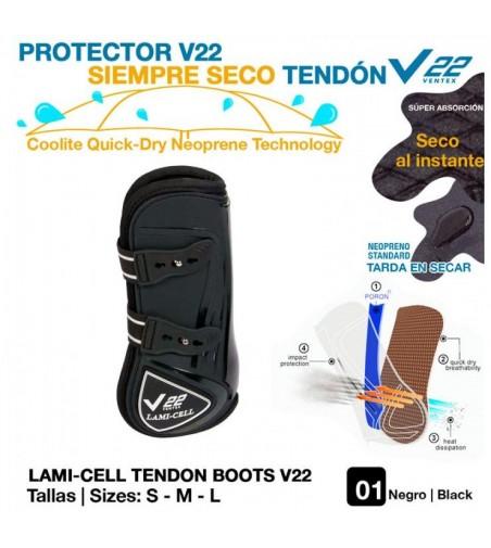 Protector V22 Siempre Seco Tendón Negro