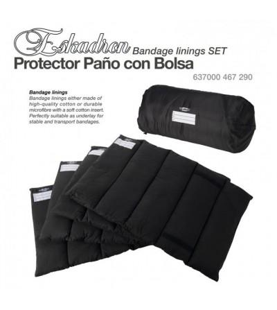 Protector Paño Eskadron con Bolsa 637000 467 290 Negro