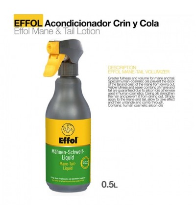 Effol Acondicionador de Crin y Cola 500 ml