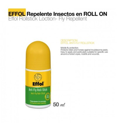 Effol Repelente de Moscas Rolstick 50 ml
