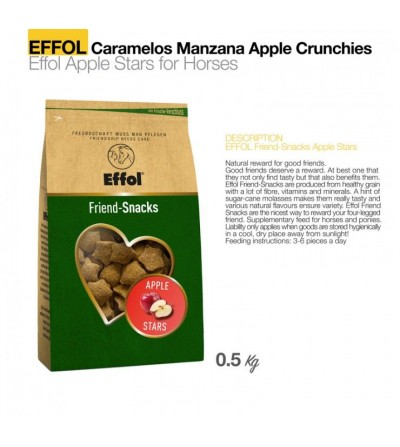 Effol Caramelos Apple Crunchies