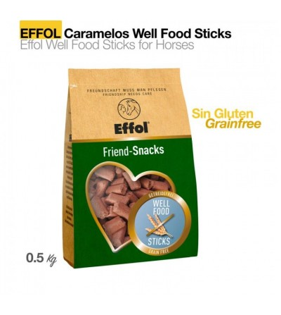 Effol Caramelos Well Food Sticks (Sin Glutén) 0.5 Kg
