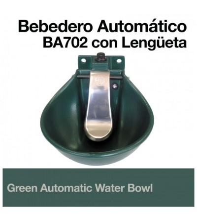 Bebedero Automático Verde B-2Pint con Lengüeta
