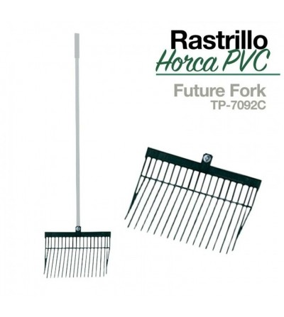 Rastrillo-Horca Pvc sin Mango Tp-7092C