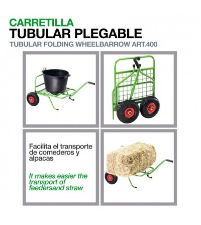 Carretilla Tubular Plegable
