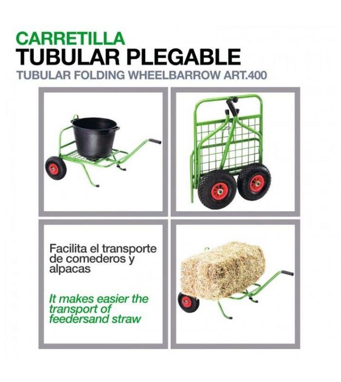 Carretilla Tubular Plegable