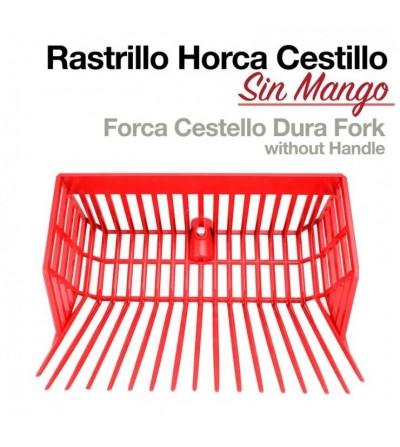 Rastrillo-Horca con Cestillo sin Mango Dura Fork