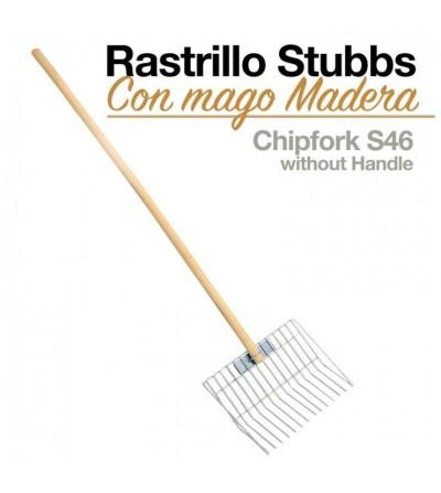 Rastrillo con Mango Madera Stubbs S46