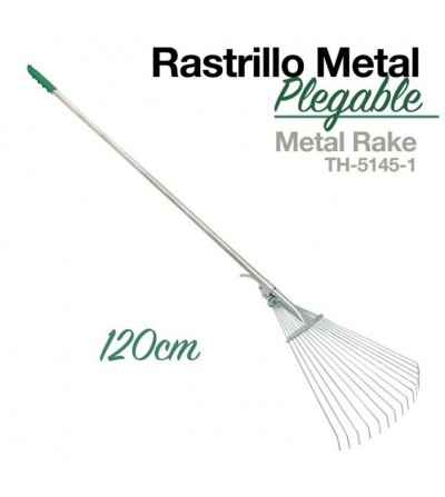 Rastrillo Metal Plegable Th-5145-1