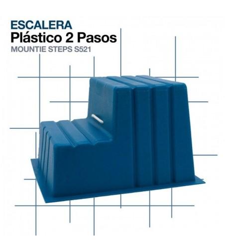 Escalera de 2 Peldaños de Plástico Stubbs