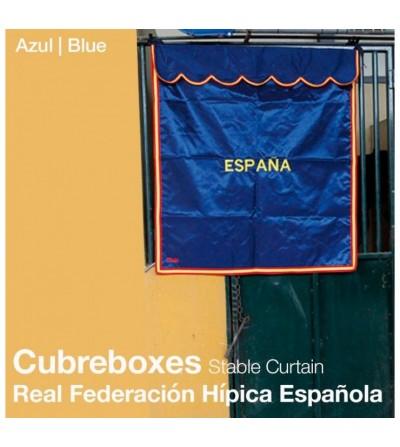 Cortina Olímpica: Cubre Boxes Rfhe Azul