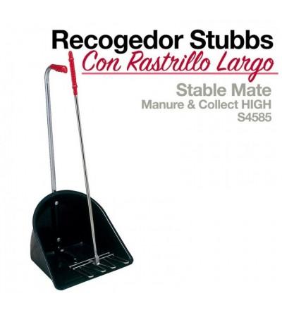 Recogedor con Rastrillo Largo Stubb S4585