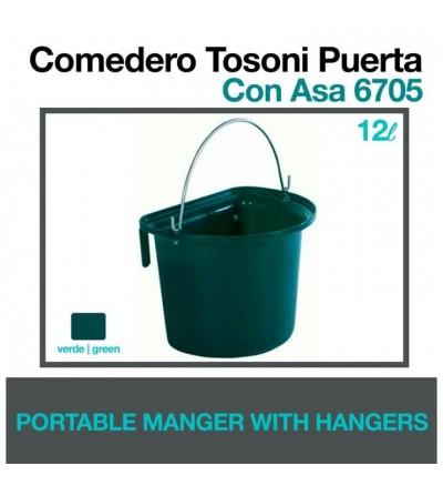 Comedero Tosoni Puerta con Asa 6705 Verde