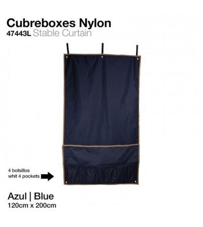 Cubre boxes Nylon 47443L 120x200 cm Azul