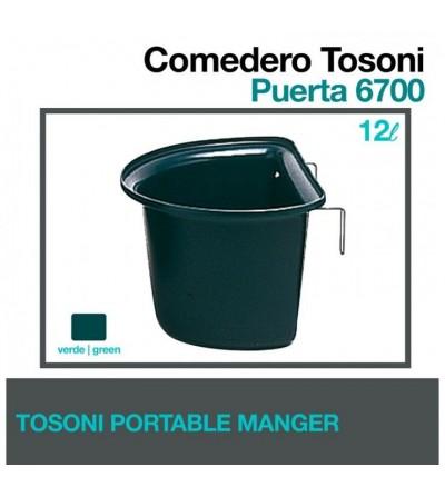 Comedero Tosoni para Puerta 6700 Verde