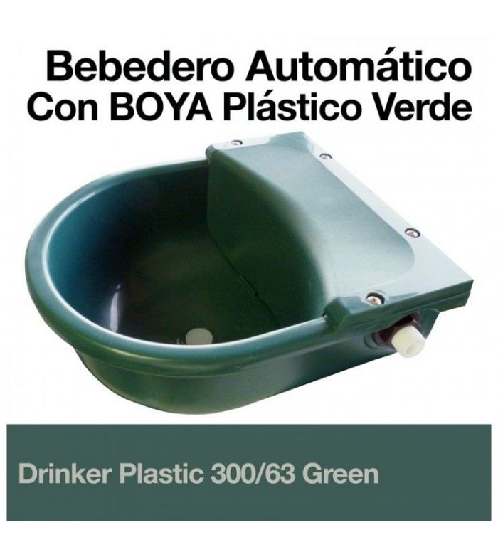 Bebedero Automático Nivel Boya de Plástico