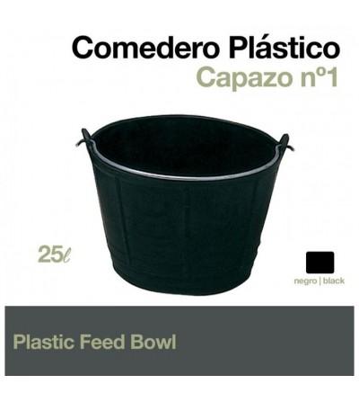 Comedero-Capazo de Plástico Capazo 25 L