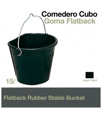 Comedero- Cubo de Goma Flatback Fiel-Kanguro