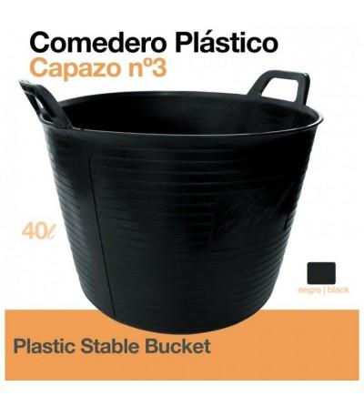 Comedero-Capazo de Plástico Capazo 40 L