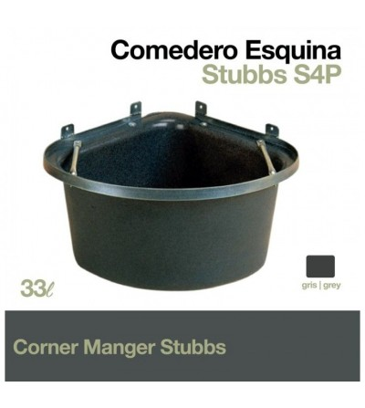 Comedero Esquina Stubbs con Barras Antivuelco S4P