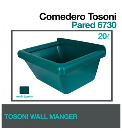 Comedero Tosoni para Pared 6730 Verde
