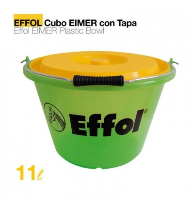 Comedero Cubo Effol Eimer con Tapa 17 L