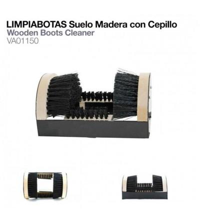 Limpiabotas Suelo Madera con Cepillo VA01150
