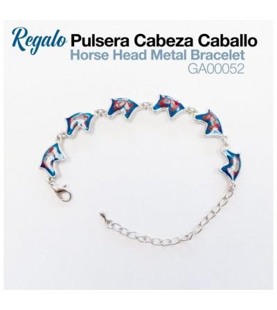 Regalo Pulsera Cabeza Caballo GA00052