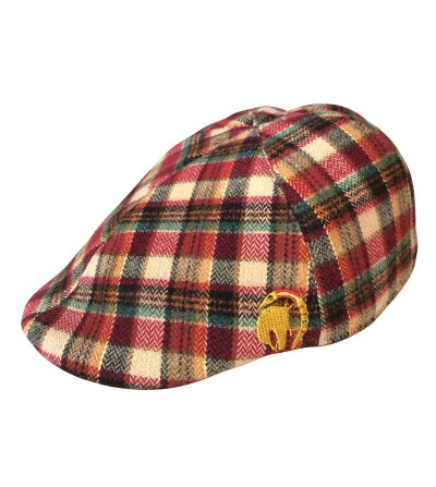 Gorra Hunter Cuadro Escoces