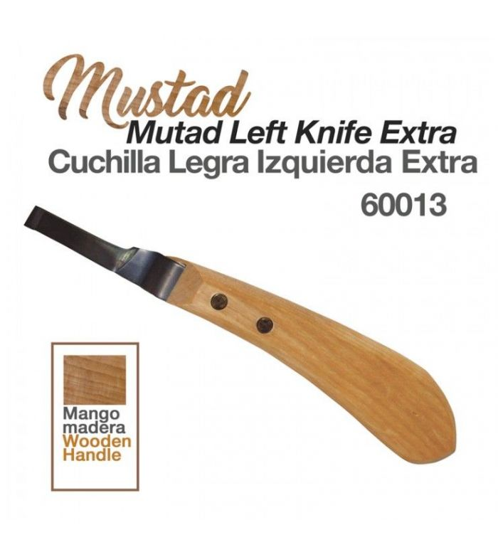 Cuchilla Legra Mustad Izquierda Extra