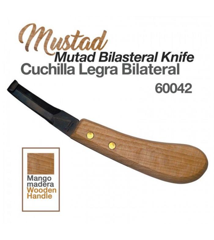 Cuchilla Legra Mustad Bilateral 60042