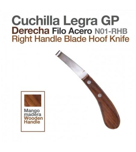 Cuchilla Legra G.P. Derecha Acero N01-Rhb