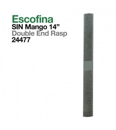 """Escofina Sin Mango 14"""""""